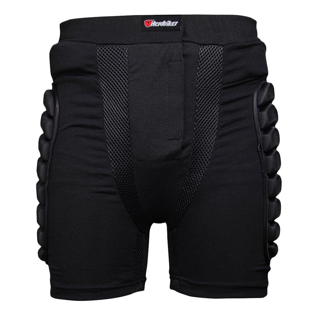 Per Pantalones Moto Cortos Motocross de Verano Pnatalones de Armadura de Protecció n para Deportes (M) Per Trading