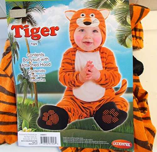 [Tiger Infant Child Costume 0-6M NIP] (Kmart Costumes For Babies)