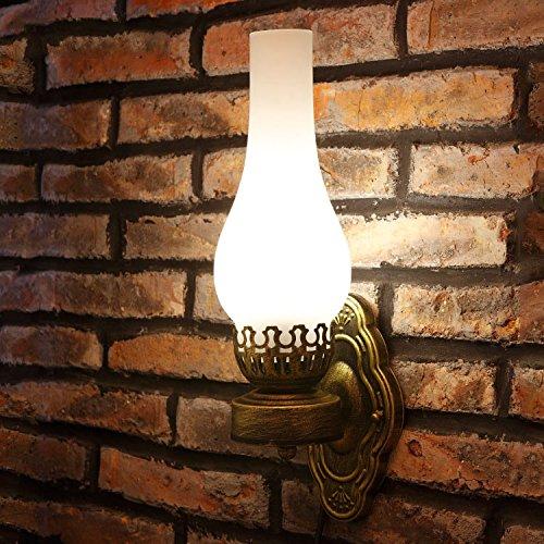 MMYNL  Antike Gang Bar Licht kreative Vintage Cafe Restaurant Schlafzimmer Kopfteil Wand, 120  420 (mm)