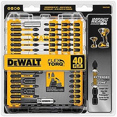 DEWALT DWA2T40IR IMPACT READY FlexTorq Screw Driving Set, 40-Piece 4