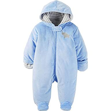 757d08985 Amazon.com: Carter's Child Of Mine Baby Pram Faux Fur Boy and Girls Sizes:  Clothing