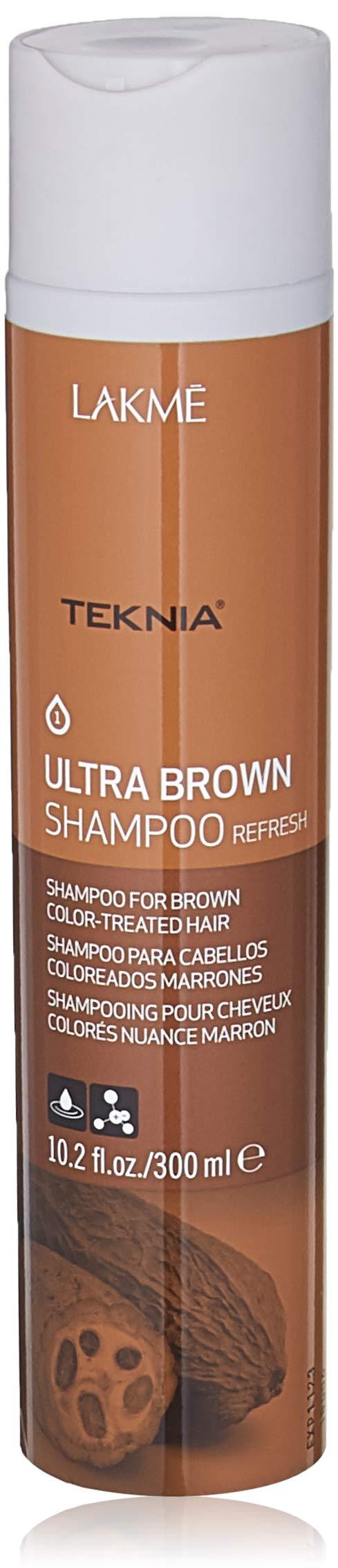 Lakme Teknia Ultra Brown Shampoo, 10.2 Fl Oz