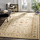 Cheap Safavieh Antiquities Collection AT14A Handmade Traditional Oriental Ivory Wool Area Rug (3′ x 5′)
