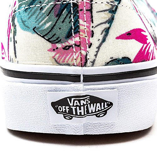 Vans Authentic, Chaussures Femme (Tropical) multi/true white