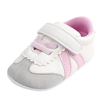 Manadlian Chaussures Bébé, Chaussures Premiers Pas Bébé Garçon,Chaussures Marche Bébé Fille