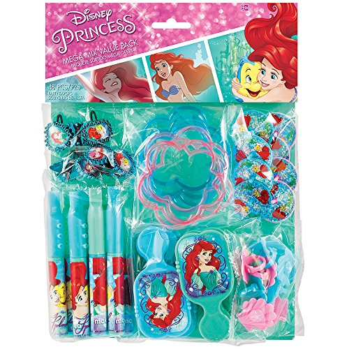 American Greetings The Little Mermaid Party Favor & Value -