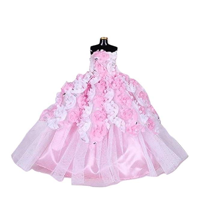 Amazon.com: WEEKEND SHOP Vestido de bebé elegante hecho a ...