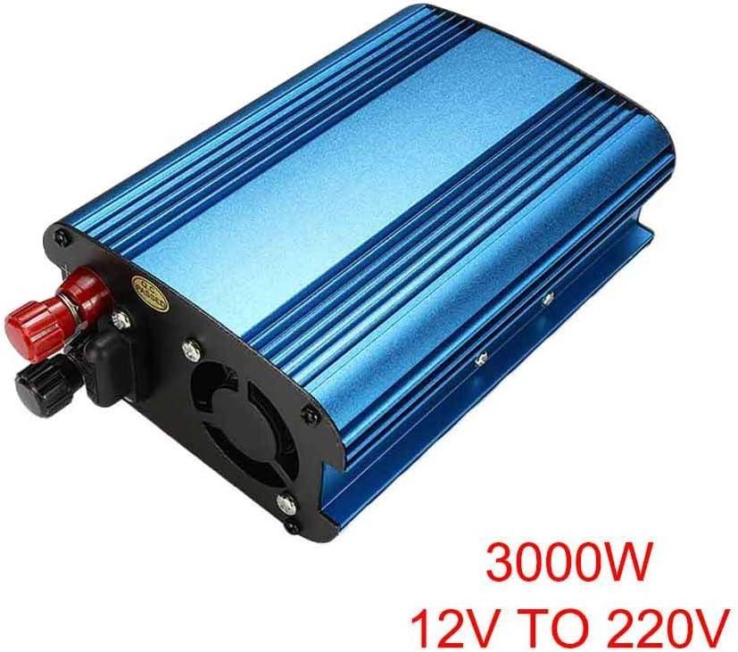 yeehao 3000W//4000W Voiture /Énergie Solaire Onduleur DC 12//24V /à AC 220V Modifi/é Sinus Wave Convertisseur 12V to 220V-4000W
