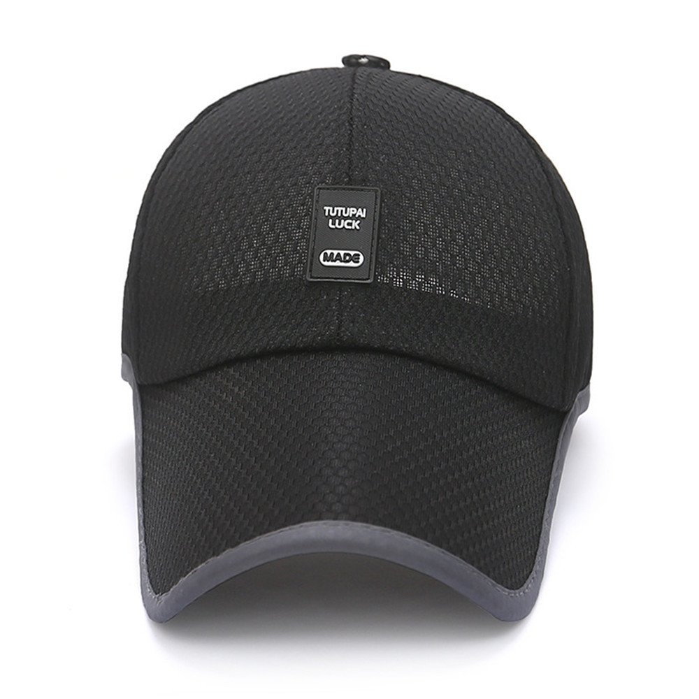 MAOCAP Sombrero de Verano Hombre de Malla de Secado rápido Casquillo Gorra  de béisbol del Visera del Visera de Sol Sombrero de la Pesca al Aire ... 32a2434d310