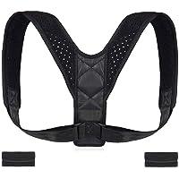 Poseimet Posture Corrector for Men and Women, adjustable Upper Back Brace for Clavicle Support, Providing Pain Relief from Neck, Back & Shoulder