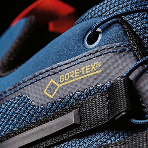 adidas Terrex Skychaser Gtx, Zapatillas de Senderismo para Hombre, Azul (Azubas/Negbas/Energi), 42 EU