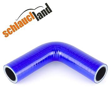 Silikonschlauch 90/° Innendurchmesser 25mm blau ***
