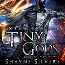 Tiny Gods: Temple Chronicles, Book 6 Audiobook by Shayne Silvers Narrated by Joel Richards