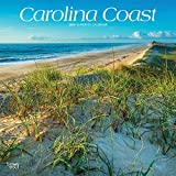 Carolina Coast 2020 12 x 12 Inch Monthly Square Wall Calendar, USA United States of America Southeast State Nature (English, French and Spanish Edition)