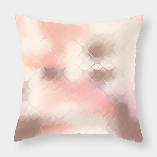 Funda de cojín de lino y algodón, color gris, impresión ...