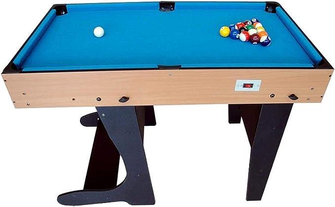 Riley Mesa de Juegos Plegable 4 en 1 - Incluye 11 Juegos, Billar ...