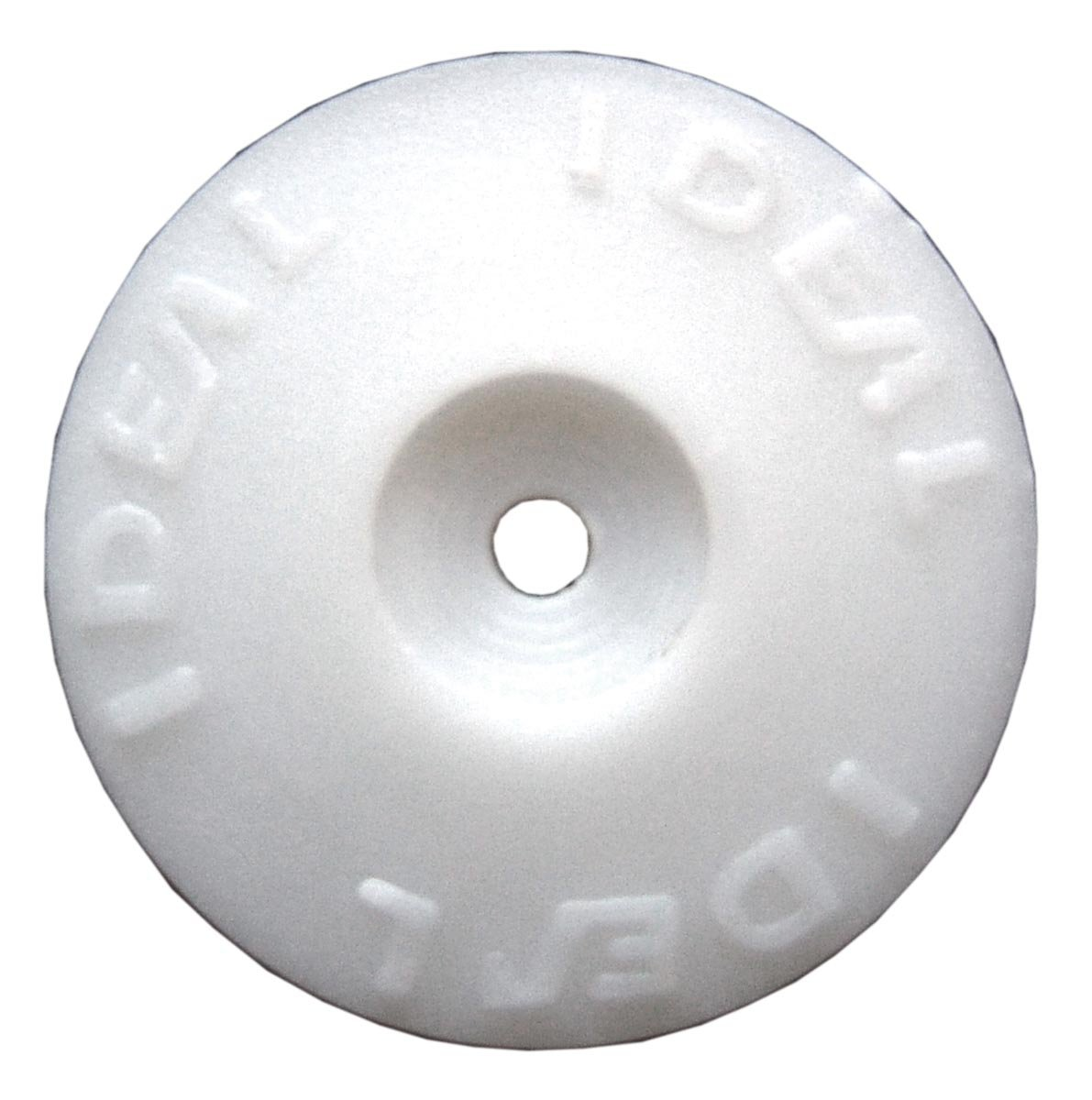 Ideal Security Inc. SKPHC 500/Box Plastic Cap Washers  White Plastic