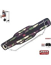 Cinturón 2Fit con cadena para musculación, levantamiento de pesas, cinturó