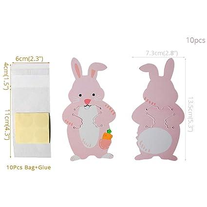Amazon.com: Bolsas de papel celofán para caramelos ...