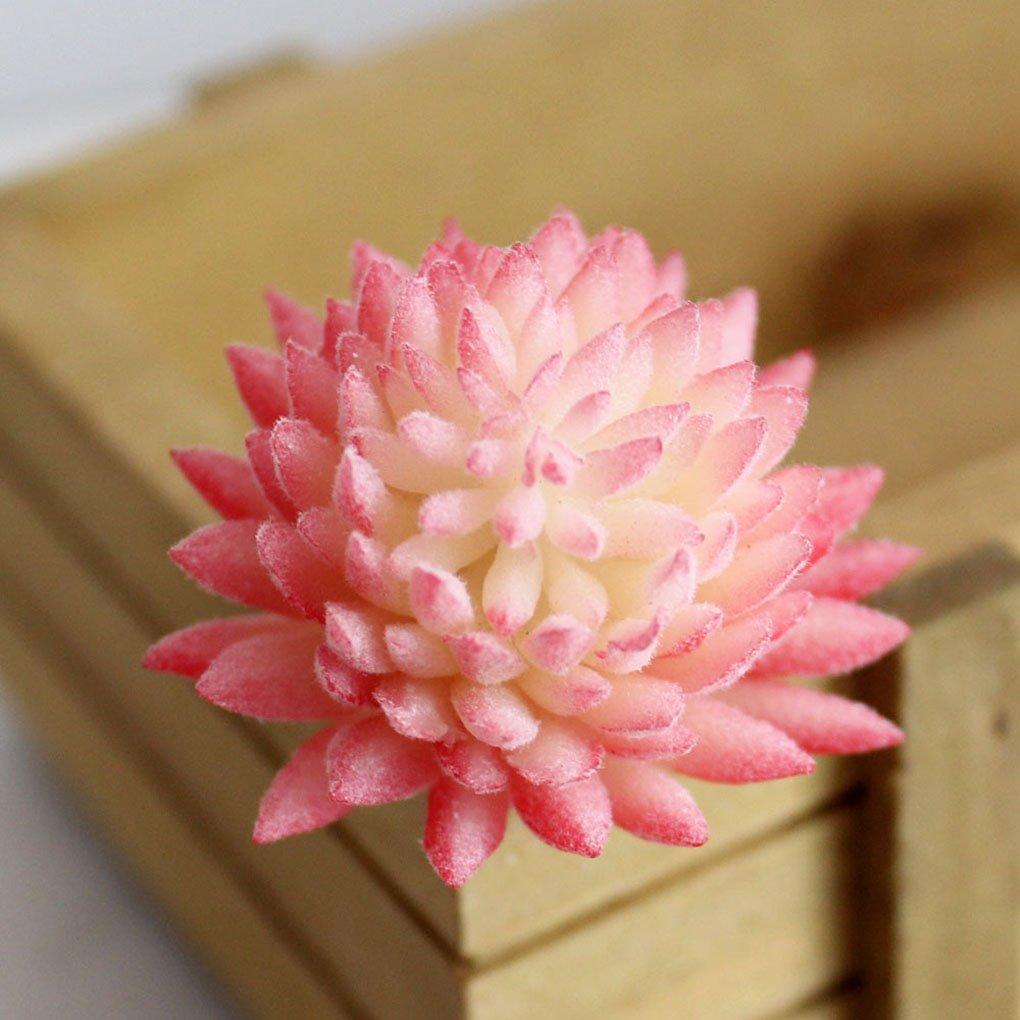 Amazon.com: Artificial Succulent Artfen 3 Pack Mini Artificial Vinyl ...
