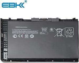 EBKK BT04XL 687945-001 Battery for HP Elitebook Folio 9470 9480 9470M 9480M Notebook Series H4Q47AA HSTNN-IB3Z HSTNN-I10C BT04 BA06 BA06XL 696621-001 687517-171 [12 Months Warranty]