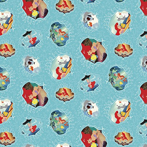 Springs Creative 63755-J520715 Disney-Posters 43/44'' 100% Cotton 15yd D/R by Springs Creative Products