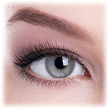 78d6b5fc949 Buy Colour Perfection Dark Grey Coloured Contact Lenses -Without Power  Online at Low Prices in India - Amazon.in