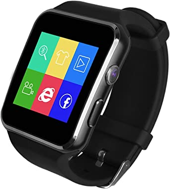 Soloking T60 Smartwatch,Bluetooth 3.0 Reloj Inteligente 1.54 ...