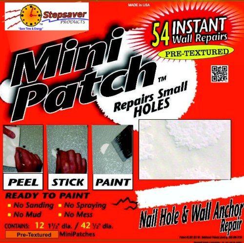 - Self Adhesive Mini Patch Pre-textured (54 Repair Patches)