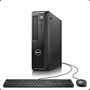 Dell Vostro 260S Desktop, Intel Quad Core i5-2400 up to 3.4GHz, 16G DDR3, 512G SSD, DVDRW, HDMI, VGA, WiFi, Keyboard & Mouse, Win 10 Pro 64 Bit-Multi-Language Supports English/Spanish/French(Renewed)