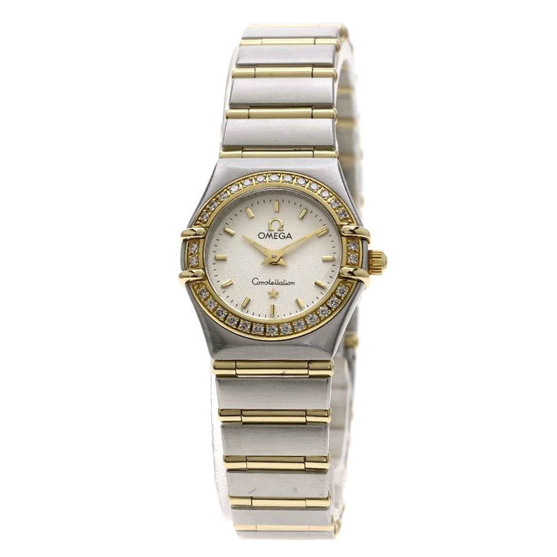 [オメガ]コンステレーション 腕時計 ステンレススチール/SSxK18YG/ダイヤモンド レディース (中古) B07F3NN67T