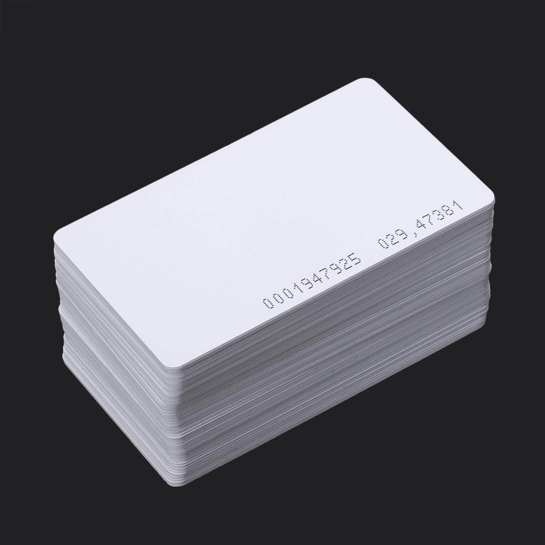 Semoic 50 Stueck Intelligente Naehe EM4100 125kHz RFID Proximity Karte Eintrag Leerer ID Zugriff