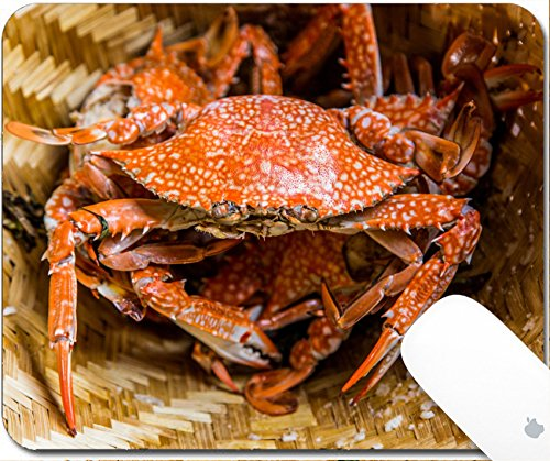 Crab Legs Steamed (Luxlady Gaming Mousepad 9.25in X 7.25in IMAGE: 19892975 Steamed crabs)