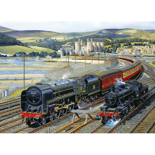 Gibsons Gateway to Snowdonia Jigsaw Puzzle, 1000 piece Gibsons Games G916 Games_and_Puzzles Puzzles for Grown-ups