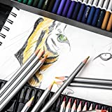 Colore-Watercolor-Pencils-Water-Soluble-Colored-Pencils-For-Art-Students-Professionals-Assorted-Colors-for-Sketch-Coloring-Pages-For-Kids-Adults-Vibrant-Colors-For-Drawing-Books-Set-of-72