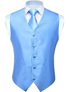 Barry.Wang - Conjunto de Chaleco Formal para Hombre, Corbata de ...