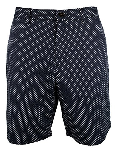 Kors Bermuda Michael (Michael Kors Men's Pindot Cotton Bermuda Shorts-M-36)