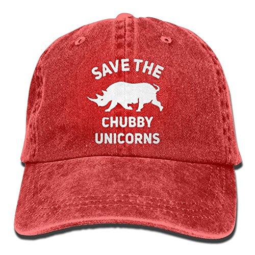 Rhino Denim - Adult Denim Cap The Chubby Unicorns Rhino