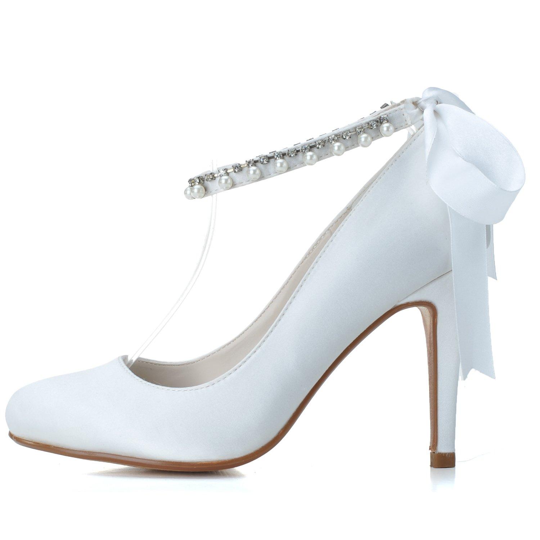 Qingchunhuangtang@ One-Strap Tipp Gurt Schuhe Elegante Frau Schuhe Name Yuan Temperament jährlichen Bankett Party Hochzeit High Heels