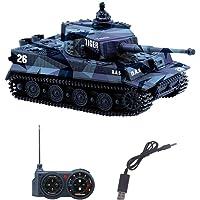 YouCute Mini RC Tank con Cable Cargador USB
