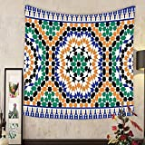 Grace Little Custom tapestry morocco seamless border traditional islamic design mosque decoration element