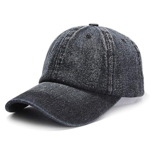 5c08c22b Amazon.com: Baseball Hat Summer Baseball Cap Soft Top Adjustable ...
