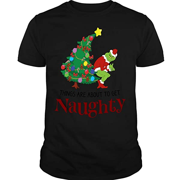 The Naughty Grinch T Shirt Grinch Stole Christmas T Shirt