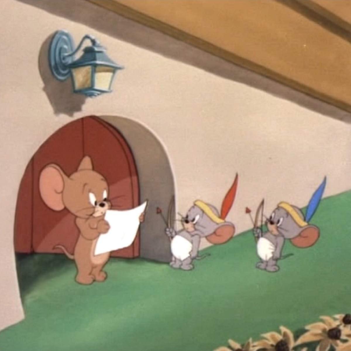 ジェリー トム ネズミ と