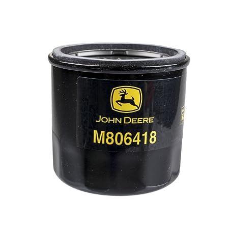 John Deere M806418 Filtro de aceite 1023E, 1025r, 1026R ...
