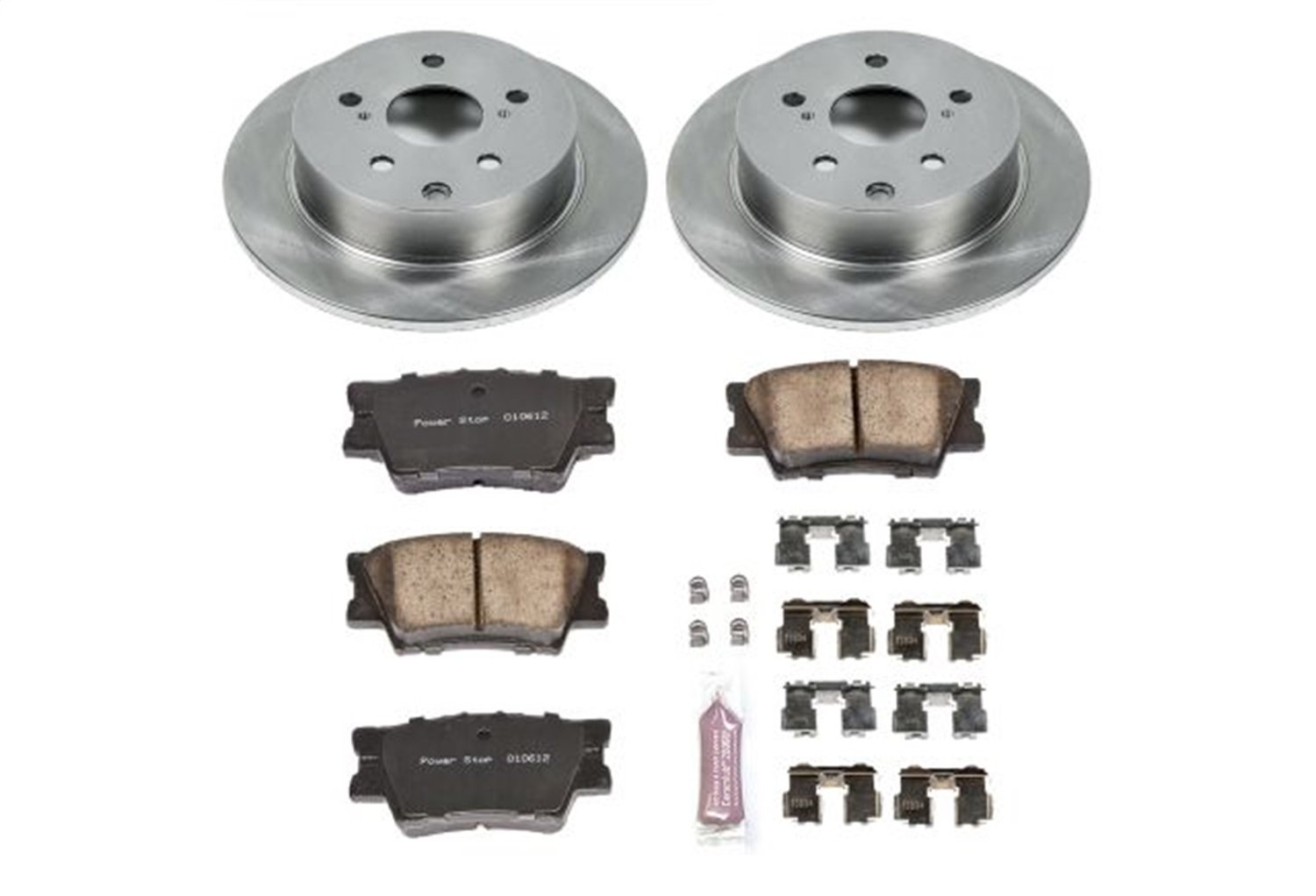 Autospecialty (KOE4670) 1-Click OE Replacement Brake Kit