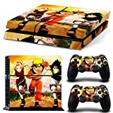 EBTY-Dreams Inc. - Sony Playstation 4 (PS4) - Uzumaki Naruto Anime Uchiha Sasuke Haruno Sakura Vinyl Skin Sticker Decal Protector