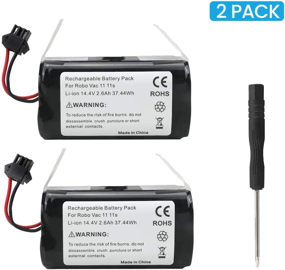 30 11S MAX 30C MAX 12 1 Compatible with RoboVac 11S 15C MAX SINSEN Rechargeable Battery Replacement Battery Pack for RoboVac 35C Accessory 15C 15T