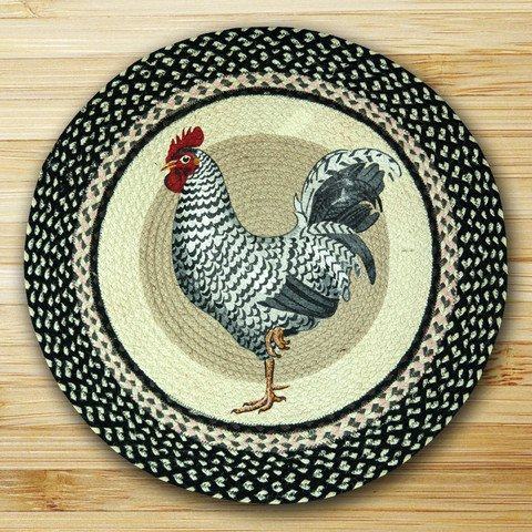 Earth Rugs 66-430R Round Rug 27