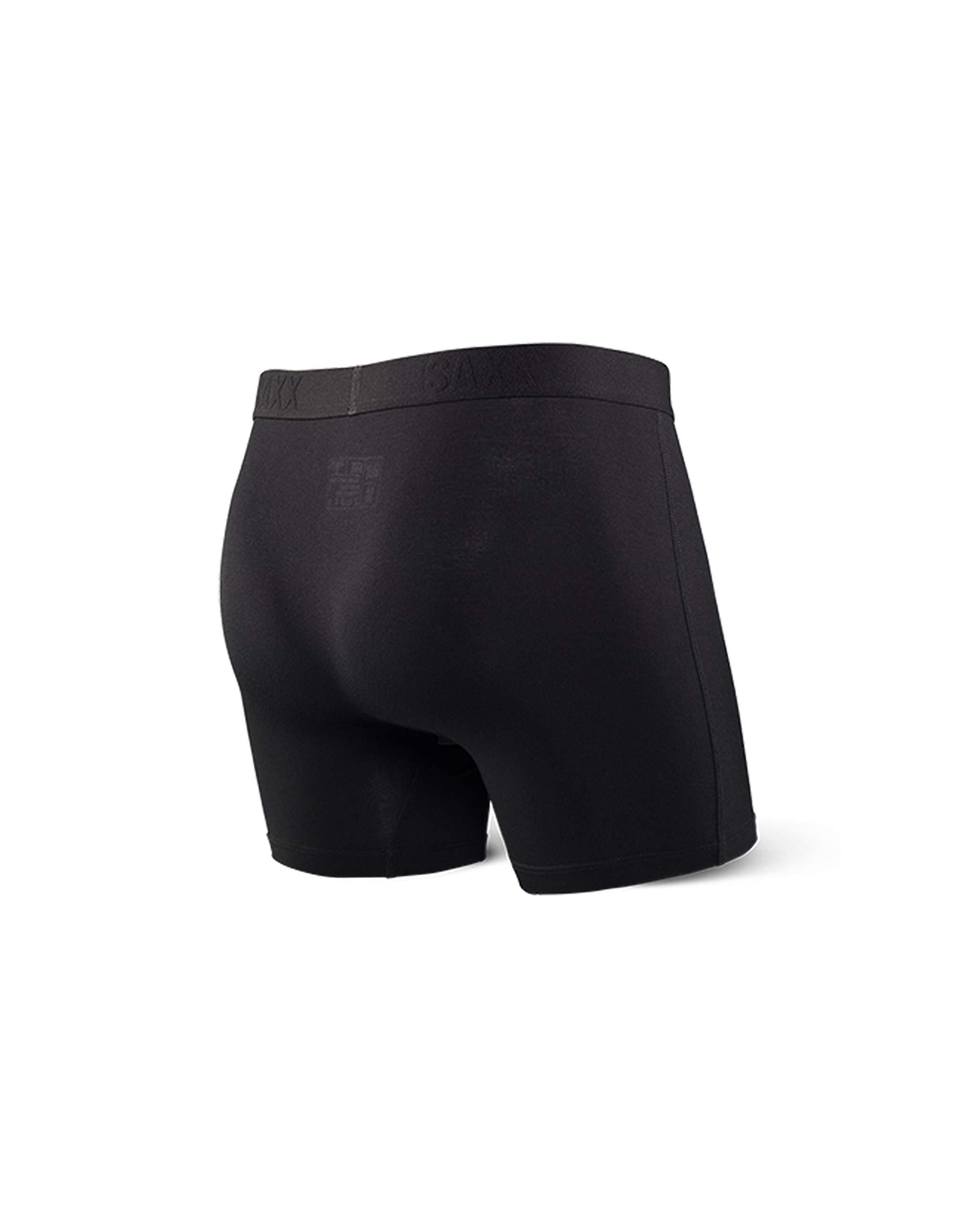 c745bbb647410e Saxx Underwear Vibe Men's Boxer Briefs Ballpark Pouch Black Large -  SXBM35.BBK < Boxer Briefs < Clothing, Shoes & Jewelry - tibs